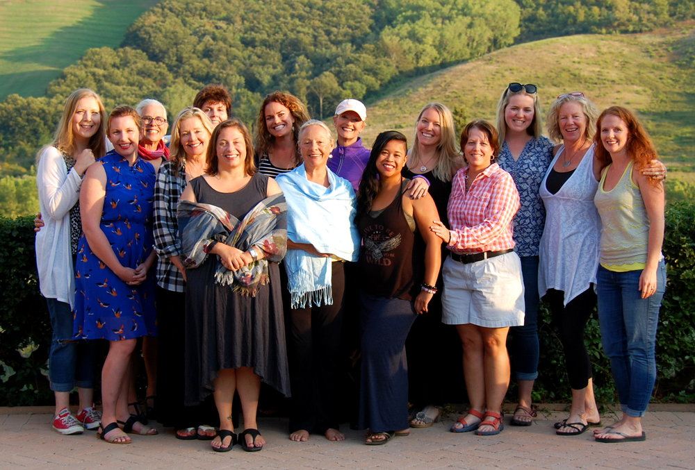 Our 2015 Tuscany writers.