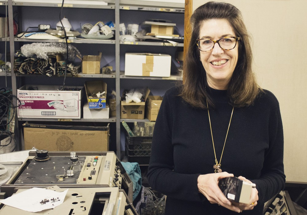Susan Rogers, Ph.D. Photo from TapeOp ISSUE #117 JAN/FEB 2017