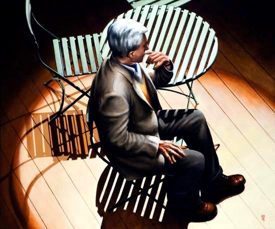 Derek Jacobit, Rehearsing, A Voyage Round my Father.jpg