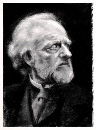 Ian McDiarmid. Ibsen's John Gabriel Borkman. Charcoal.jpg