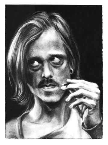 Mackenzie Crook, Jerusalem, Apollo, charcoal, 38x28.jpg