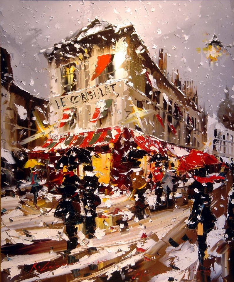 Kal Gajoum 1968 - Lebanese Knife painter - Tutt'Art@ (25).jpg