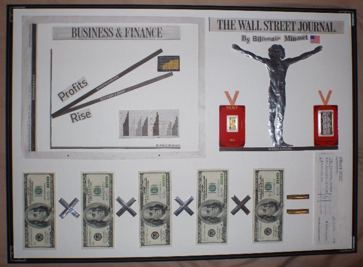 Wall Street Journal by Billionaire Mindset | Price: £1000000 | Size: 50x70cm