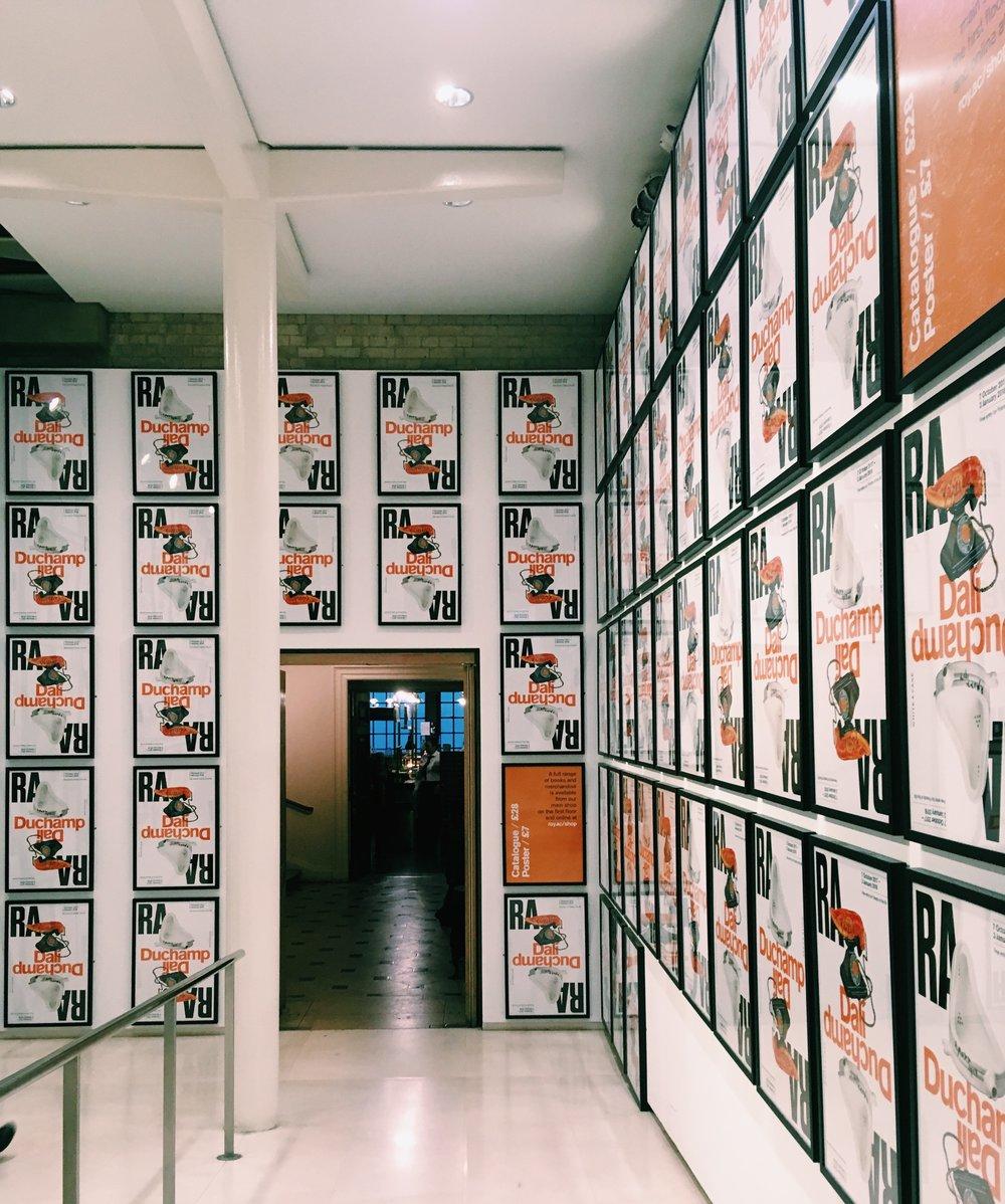 Dalì / Duchamp at the Royal Academy of Arts.JPG