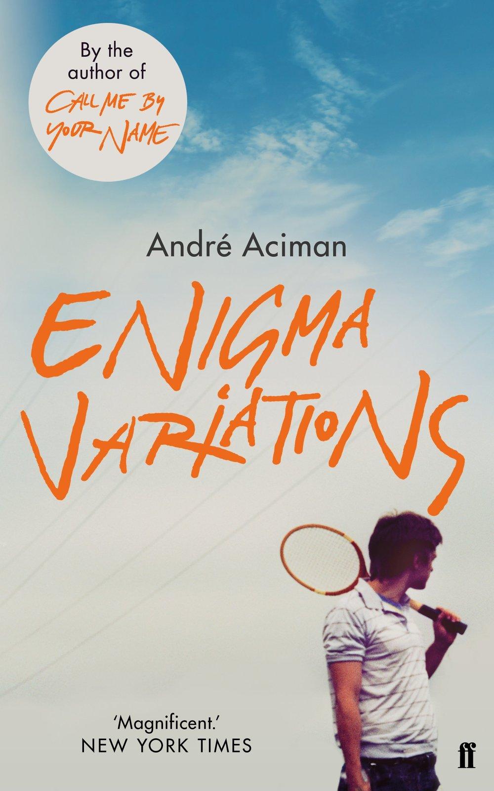 Enigma VariationsBy André Aciman.jpg