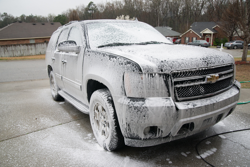 Chemical Guys Citrus Wash and a DI Foam Cannon