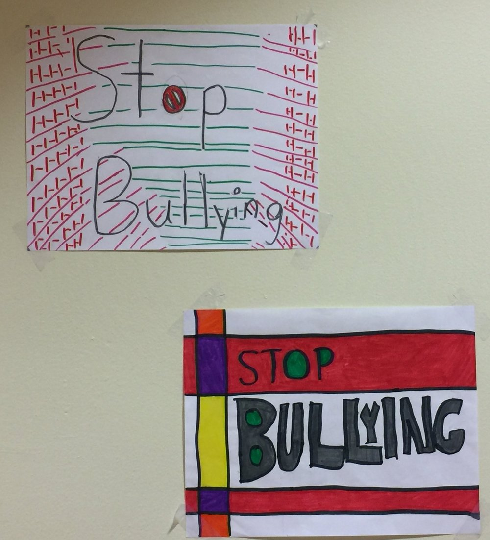 8th grade bullying prevention posters