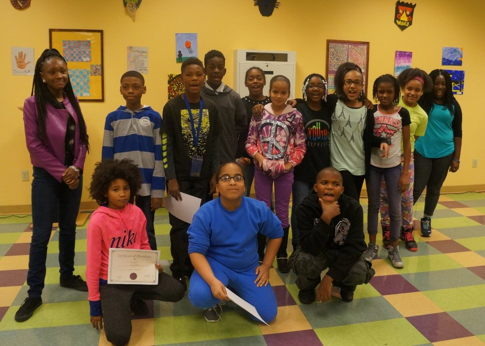 UPCS middle school honorees