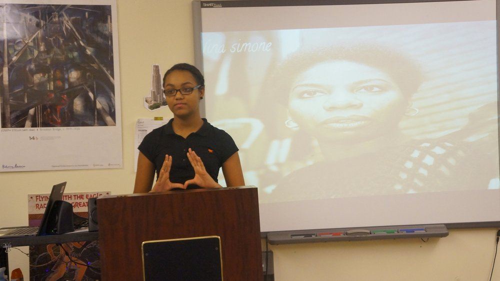 UPCS biographical presentation on Nina Simone