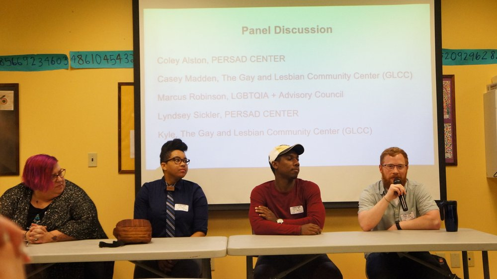 Panel at LGBTQ Presentation at Urban Pathways