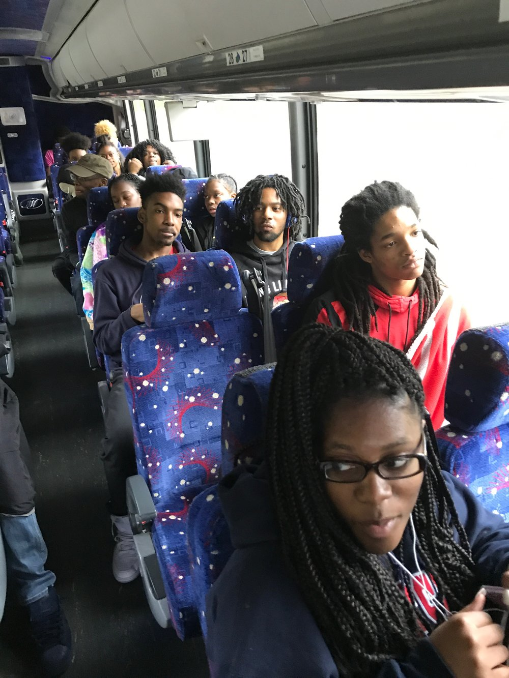 UPCS travels to Harrisburg to visit a college campus