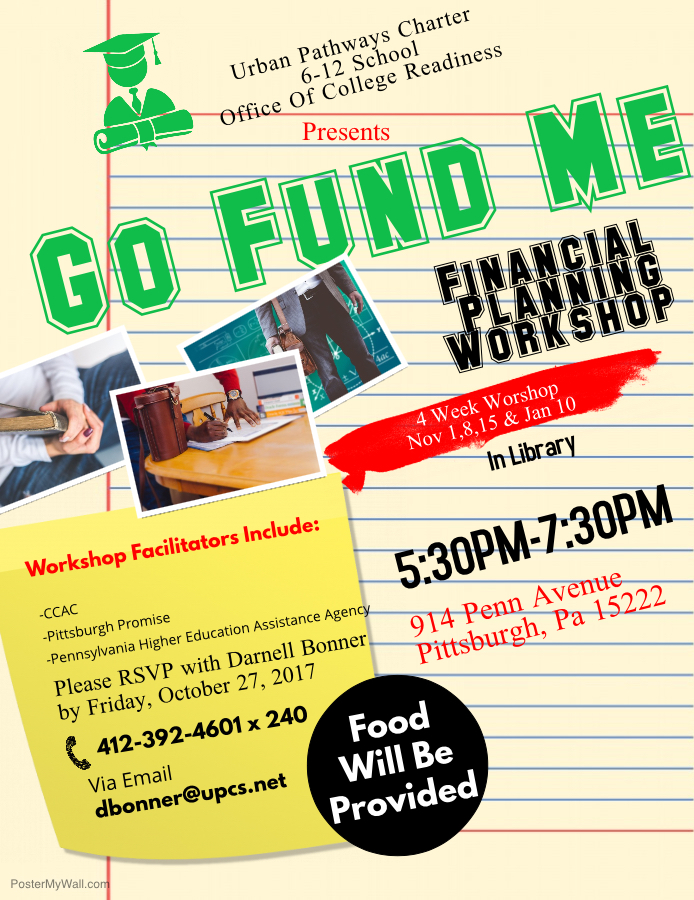 financial planning workshop flier