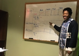 Urban Pathways students teach lessons of central tendency