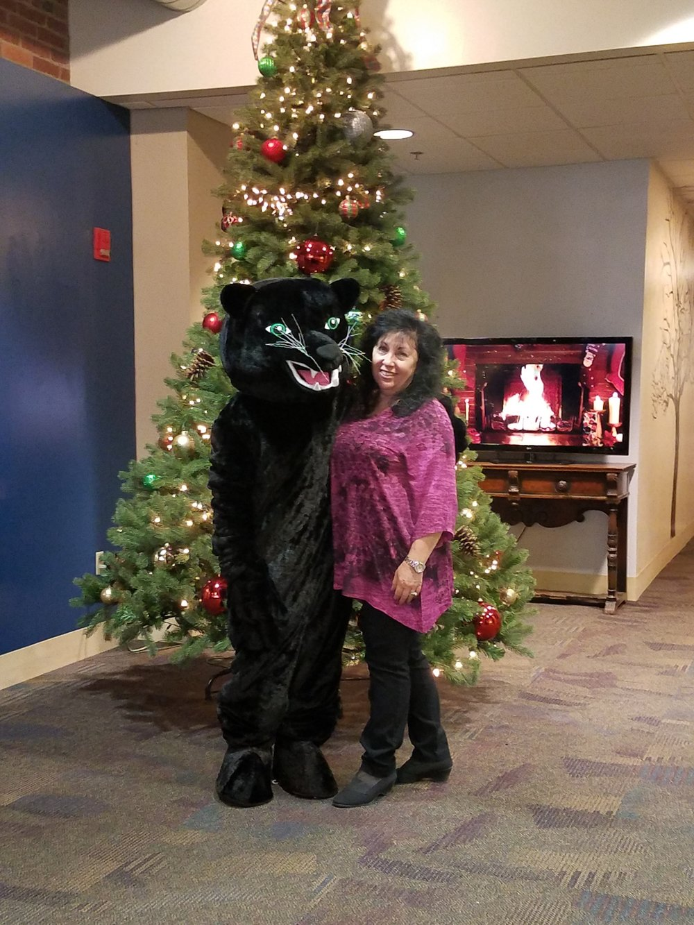 Urban Pathways Panther with staff