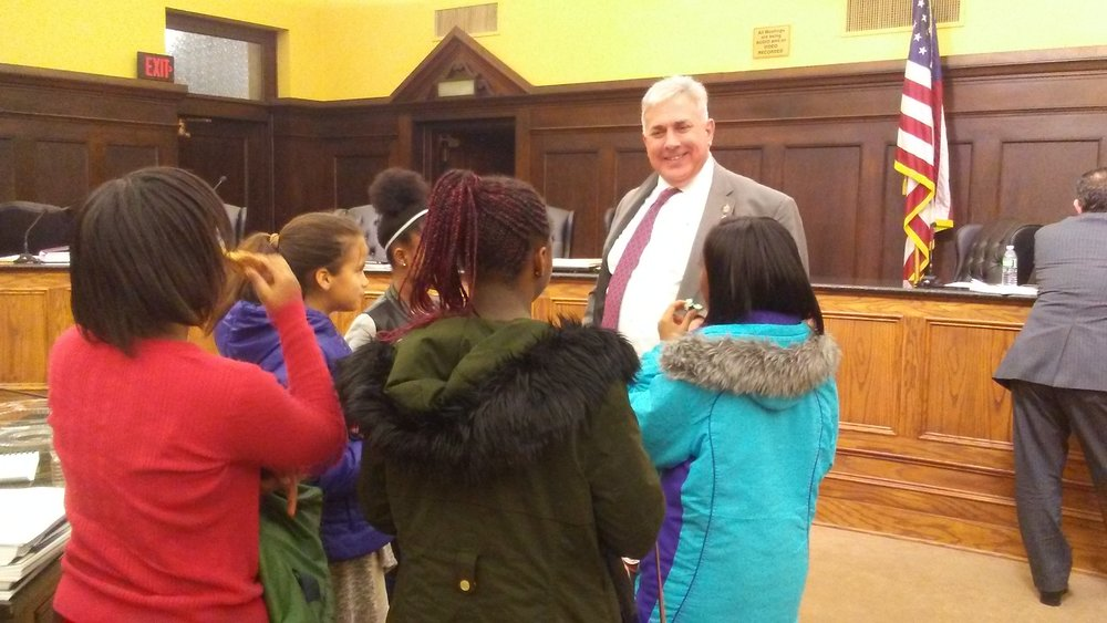 UPCS Student Council talks with Allegheny County Council member