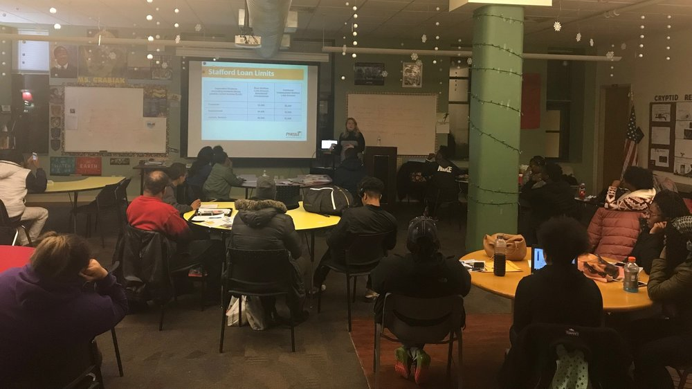UPCS 6-12 Financial Aid Night with Kimberly McCurdy from PHEAA