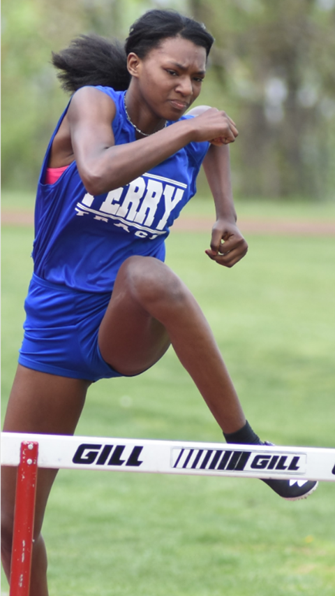 UPCS student runs track for home school, Perry