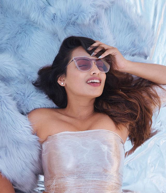 "Rain rain go away, missed putting on these sunnies today! // @maisonvalentino sunglasses via @gemopticians , get yours at 10% off using ""VARNA10"" in-stores/online. // Shot by @avinashmurthy"