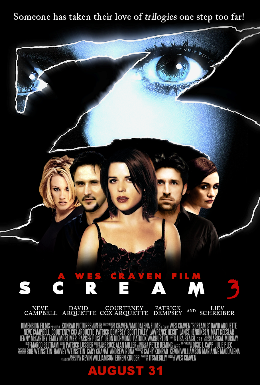 s1 e16 scream 3 2000 � now playing network