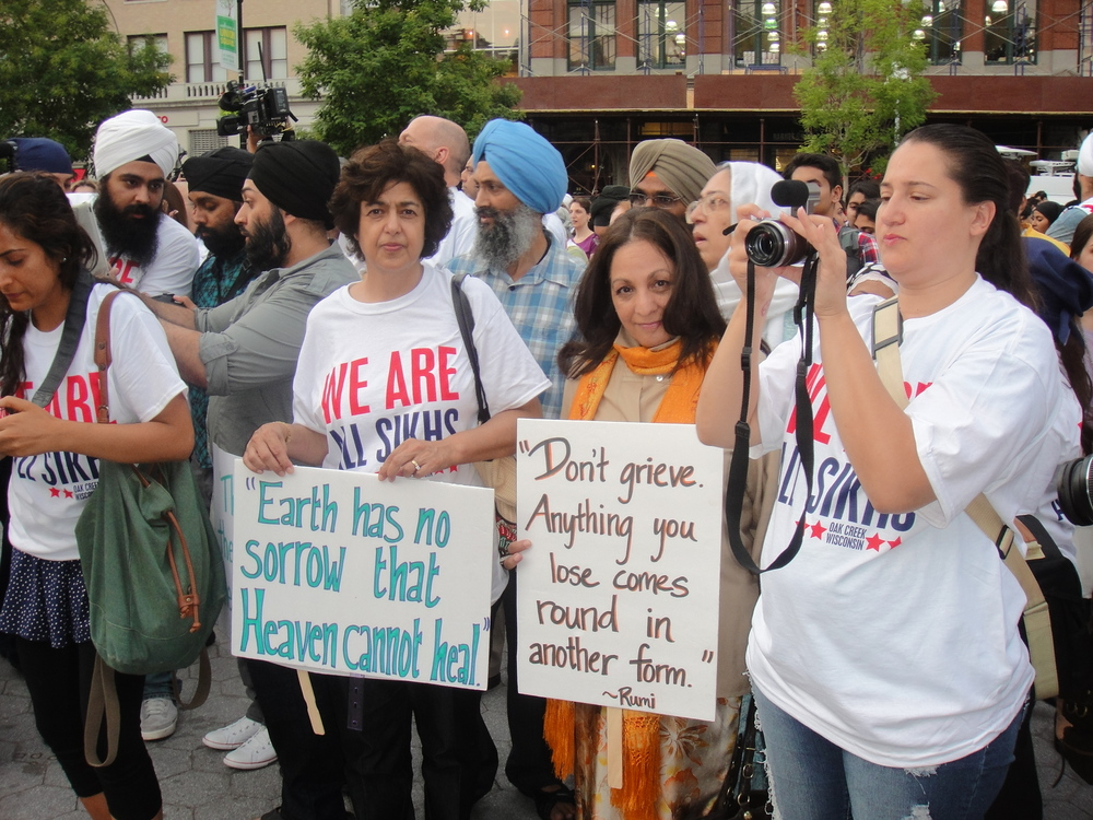Vigil for Sikh victims