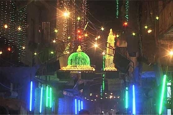 Pakistan celebrates the Prophet Muhammad's birthday