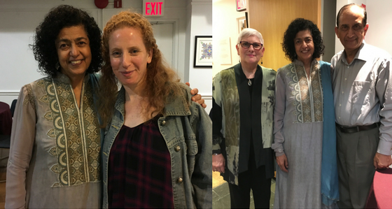With Michelle Koch; With Rabbi Deborah Hirsch & Khalid Rehman