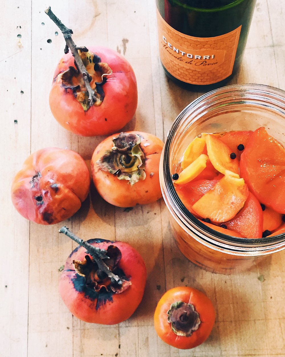 macerating persimmons.JPG
