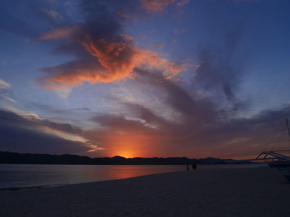 Sunset in Palawan