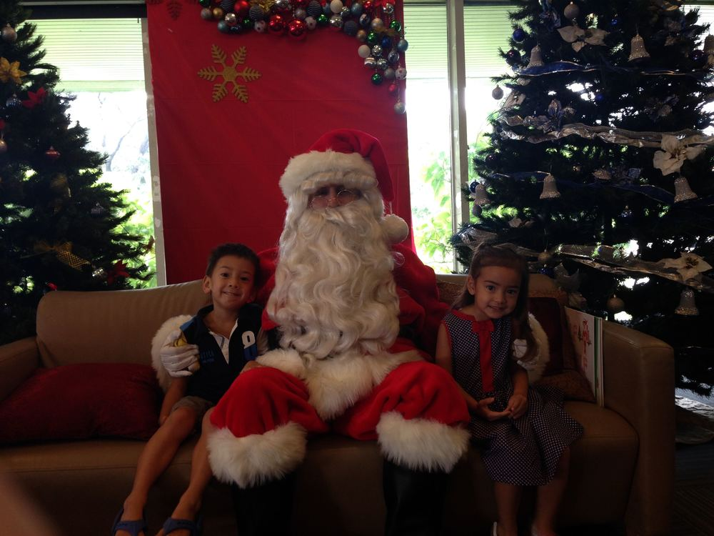 Santa photo op at the American Recreation Club