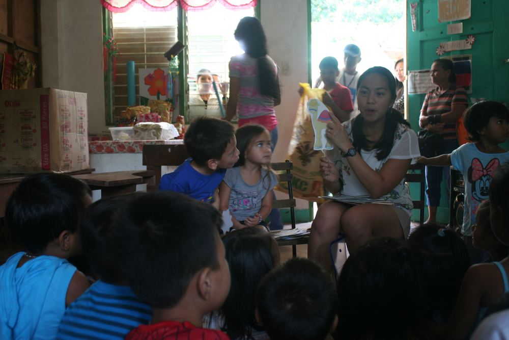 Kevin and Nina participated in our family outreach in Antipolo near my Dad's farm
