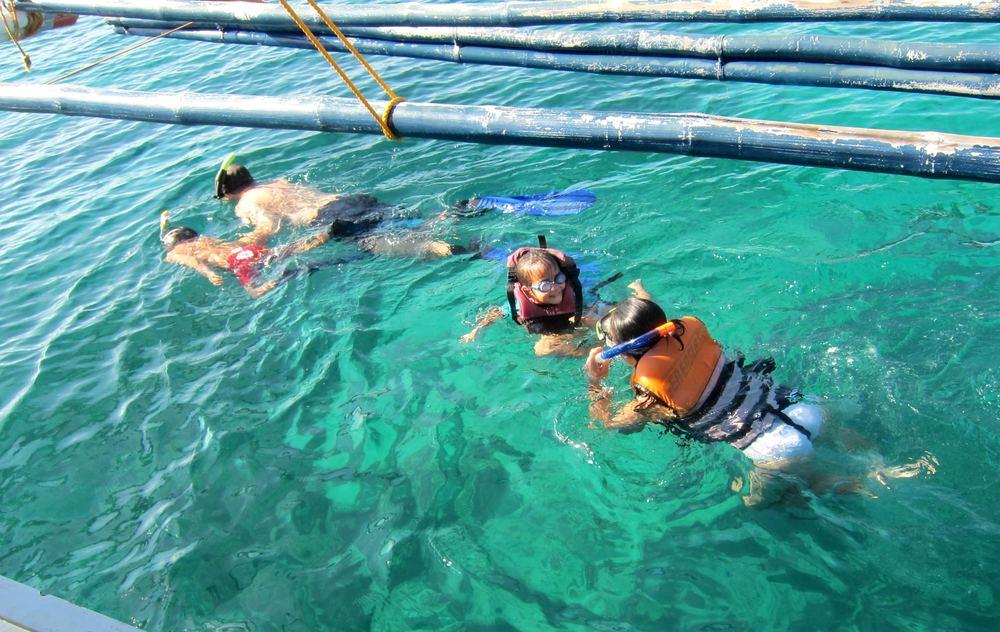 Snorkeling in Marinduque