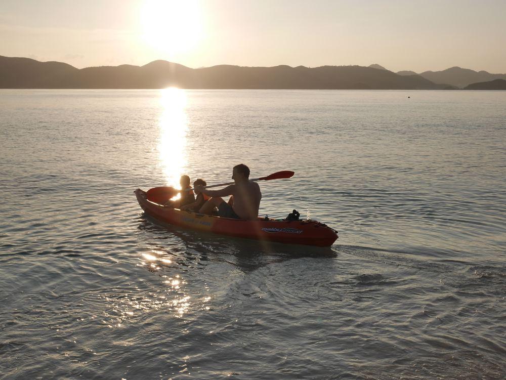 Kayaking in Palawan