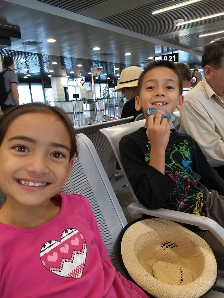 The kids when we left Madagascar after 2 and a half years.