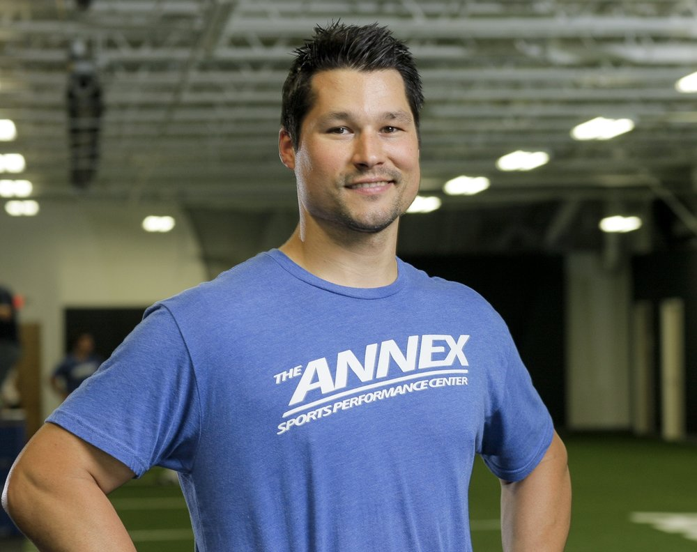 Mickey Brueckner, founder and CEO, of The ANNEX Sports Performance Center, oversees all programming and will conduct your Success Session.