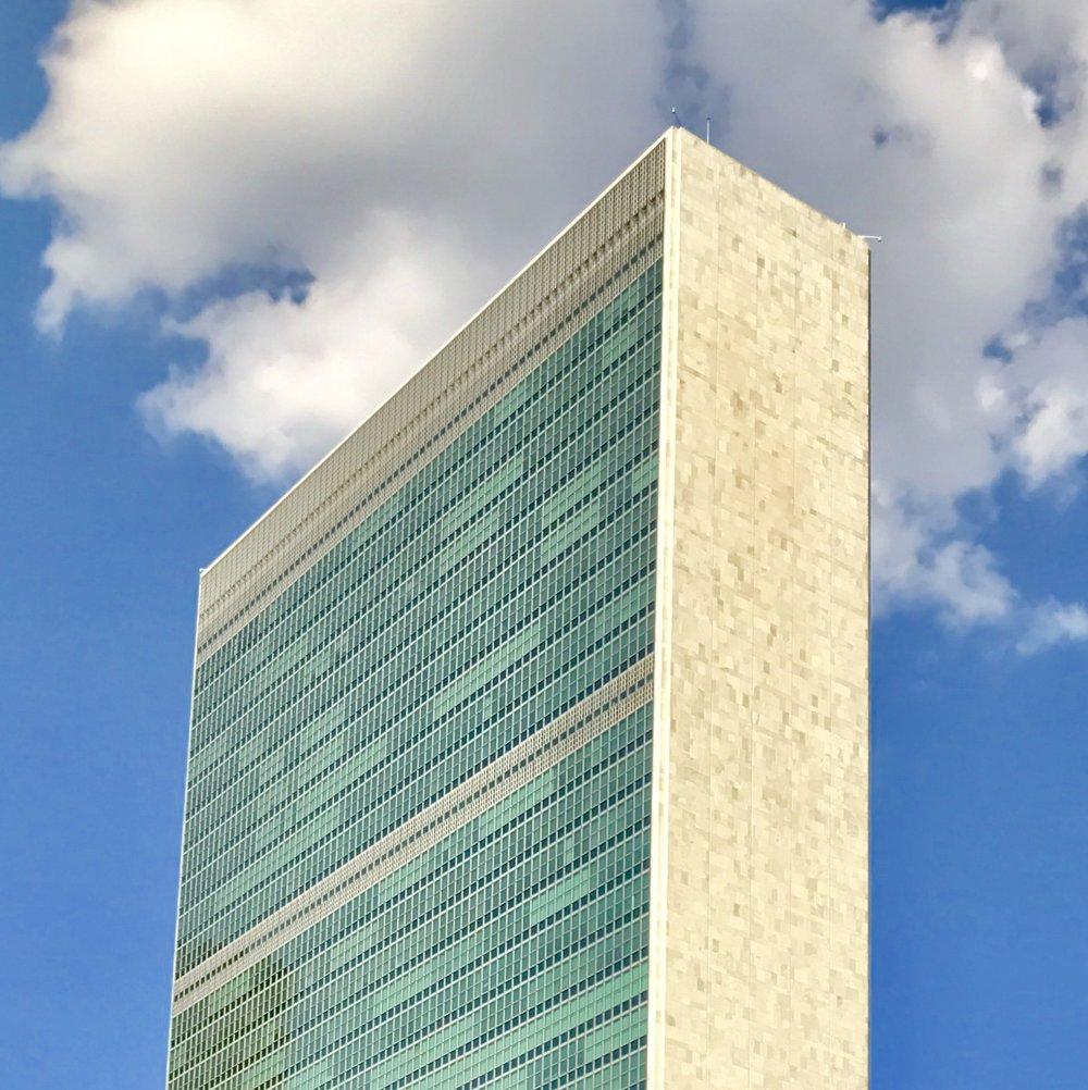 U.N. May 2017 – 13 x 13 in. – $650