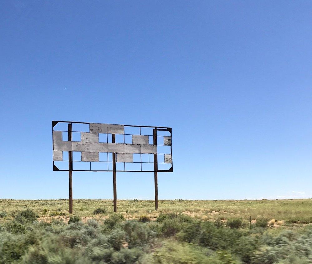 Looking for signs in Holbrook – 15 x 13 in. – $650