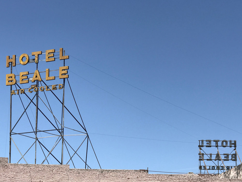 Hotel Beale, Kingman – 16.75 x 13 in. – $650