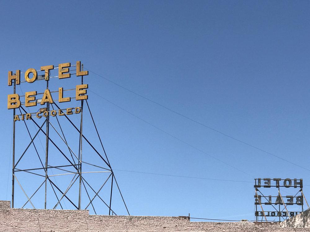 Hotel Beale, Kingman – 16.75 x 13 in. – $650
