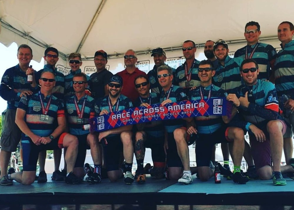 2016 RAAM Team: Midwestern Blazing Saddles