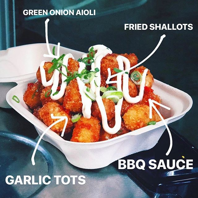 This Saturday tater tots will be raining down on @somastreatfoodpark. All the vendors will be serving fun 🥔 specials to celebrate National Tater Tot Day. We love all the spuds and don't need an excuse to enjoy 'em but since it's here, we'll take it!