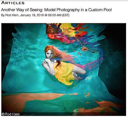 Read Our Article on The Venice Studio Pool in Dive Photo Guide