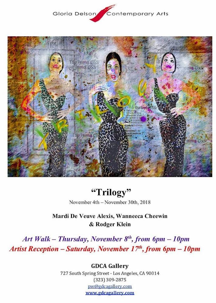 Gloria Delson Contemporary Art Los Angeles, Calif November 4-30, 2018