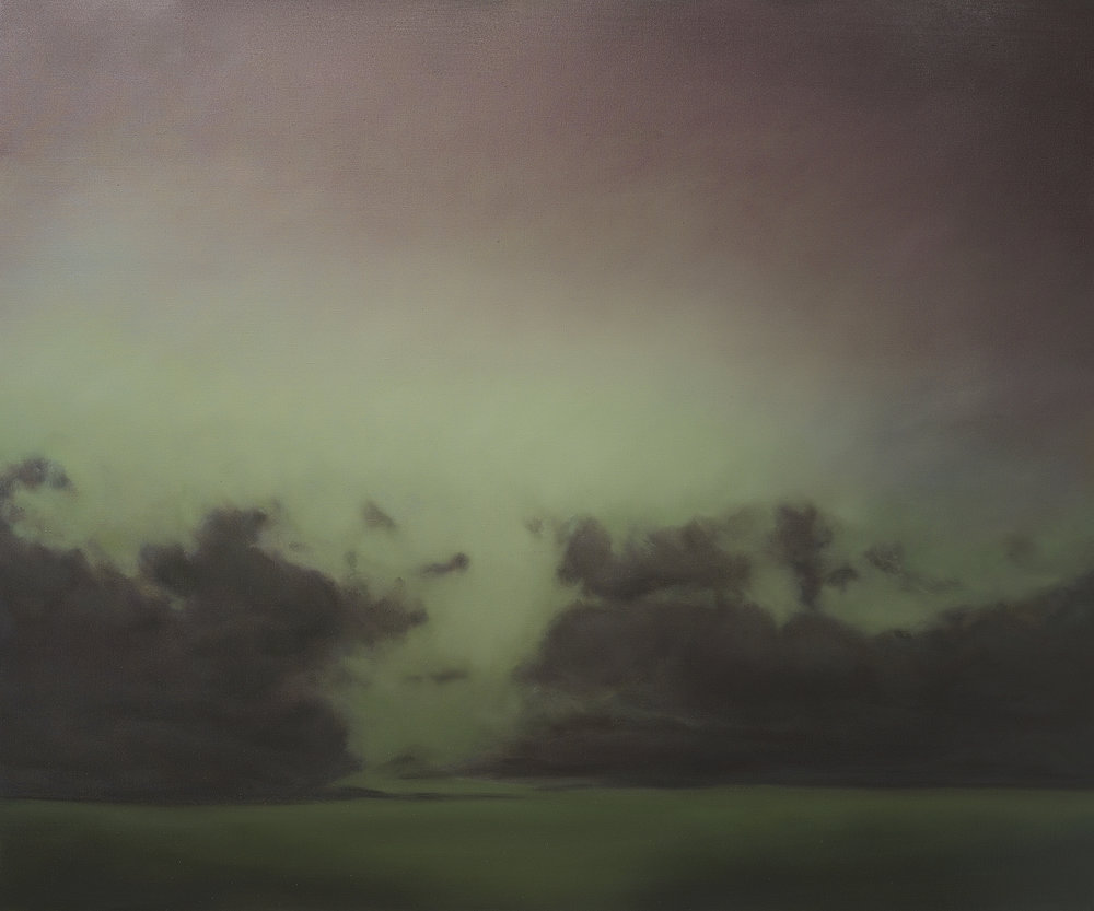Annonciation , 2017  oil on linen, 60 x 72 in, 152 x 183 cm