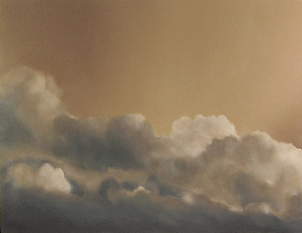 Soleils Mouillés , 2017  oil on linen, 60 x 78 in, 152 x 198 cm