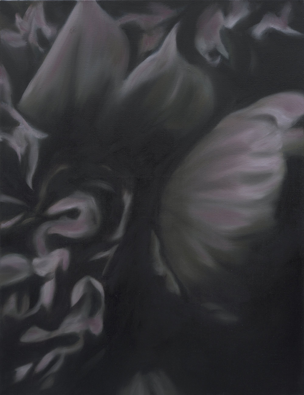 Language des fleurs et des choses muettes No.5,  2016  oil on linen, 36 x 36 in, 91 x 91 cm