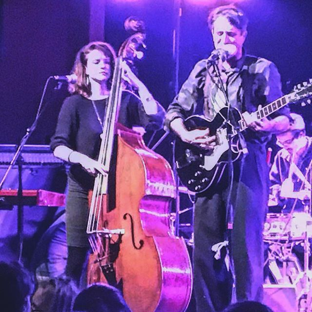 At @mysticpetaluma a few shows back w/ @liss.leigh (@the_untraditional , @token.girl )on bass!  Catch The Crux at that beautiful theater again on 4/4 when we play with @thekingstreetgiants & @alisonsowls !