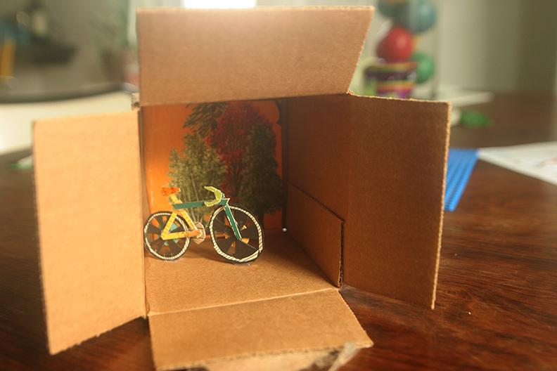 A bike in a box