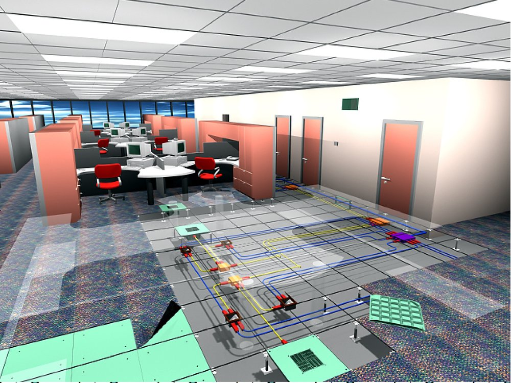 Tate Access Floors - Building Technology Platform