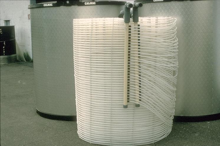 Calmac ice storage sytems - exchanger coil