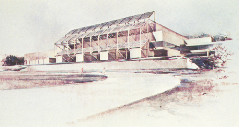 Lake Placid Winter Olympics Solar Heating 1980 Speed Skating Rink